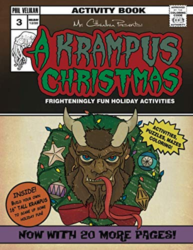 Mr. Cthuhlu presents: A Krampus Christmas: Frighteningly fun holiday activities