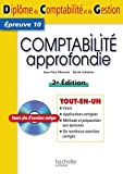 DCG 10 - Comptabilit approfondie - Tout en un - Hachette 2010