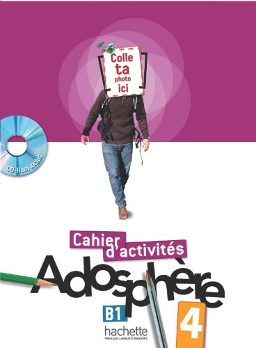 Adosphre 4 - Cahier d'activits + CD-ROM
