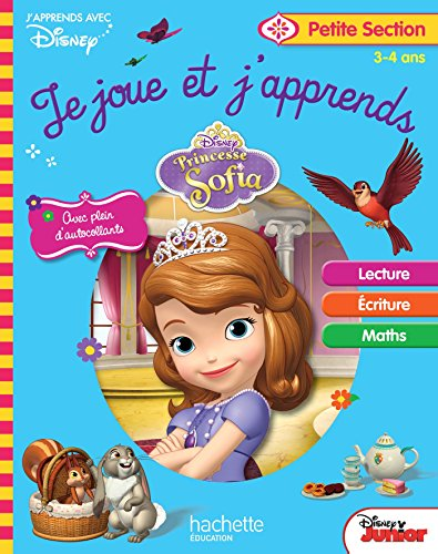Princesse Sofia je joue et j'apprends PS par Collectif