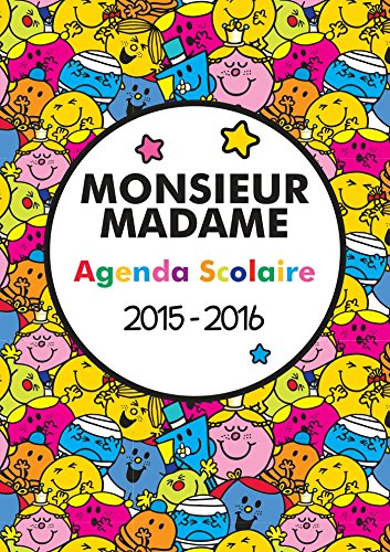 Monsieur Madame - Agenda 2015-2016