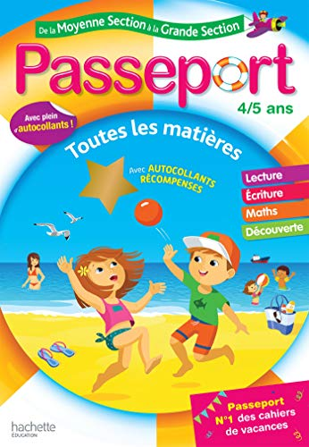 Passeport de la Moyenne Section à la Grande Section - Cahier de vacances