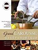 Couverture : Le Grand Larousse gastronomique