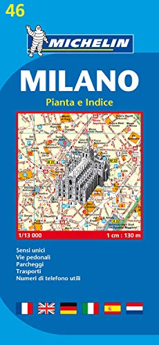 Plan Michelin Milan