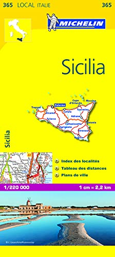 Carte LOCALE Sicilia par Collectif Michelin