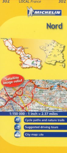 Michelin Map France: Nord 302