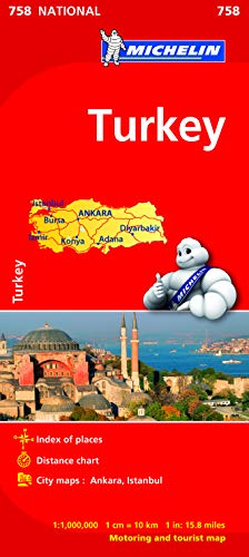 Turkey - Michelin National Map 758