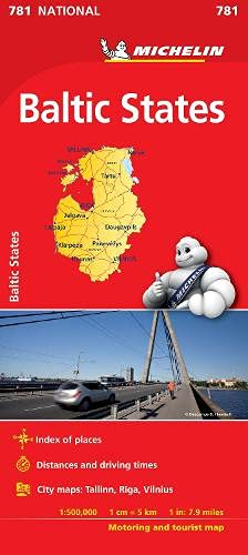 Baltic States - Michelin National Map 781