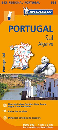 Carte Portugal Sud Michelin