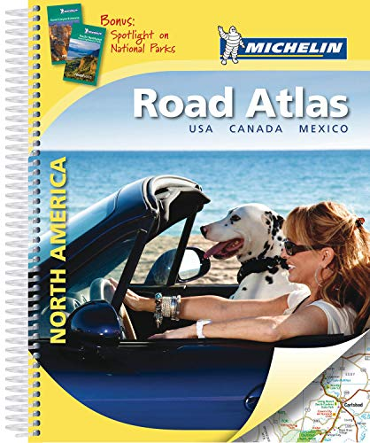 Atlas North America USA, Canada, Mexico Michelin par Collectif MICHELIN