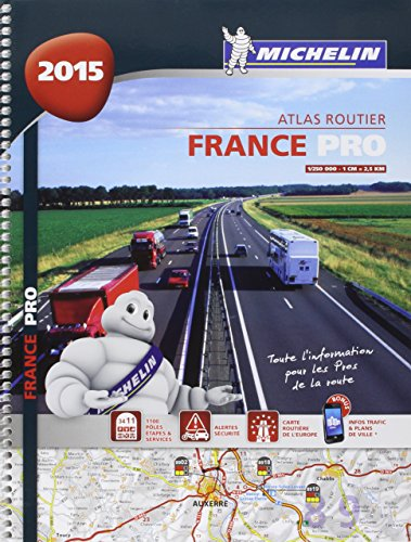 Atlas France 2015 PRO de la route Michelin