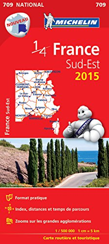 Carte France Sud-Est 2015 Michelin par Collectif Michelin