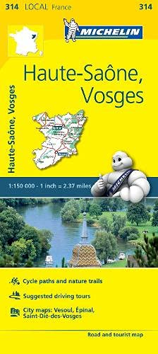 Michelin France Haute-Saône, Vosges par Michelin Travel Publications