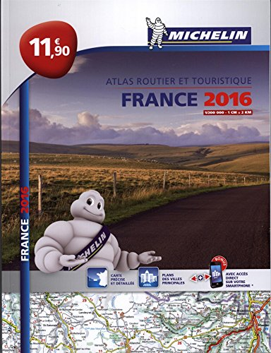 Atlas France 2016 L'essentiel Michelin