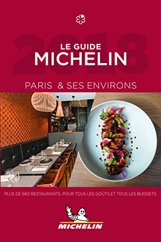 Le guide MICHELIN Paris & ses environs 2018 par Michelin