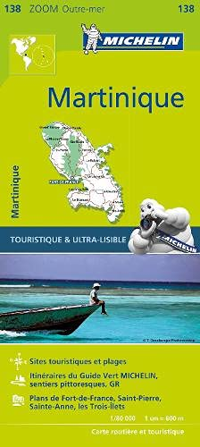 Carte Martinique Michelin