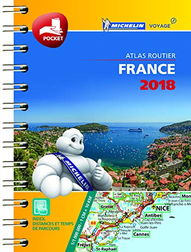 Mini Atlas France Michelin 2018