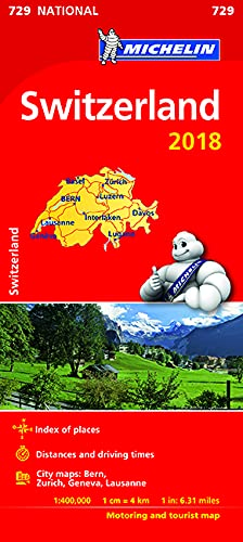 Switzerland 2018 National Map 729 2018