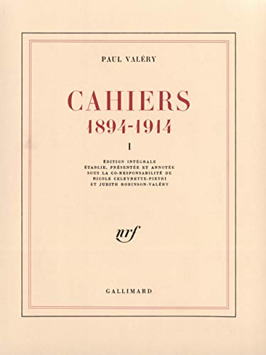 Cahiers (Tome 1): (1894-1914)