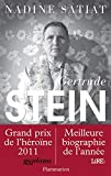 Couverture : Gertrude Stein