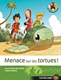 Couverture : Menace sur les tortues
