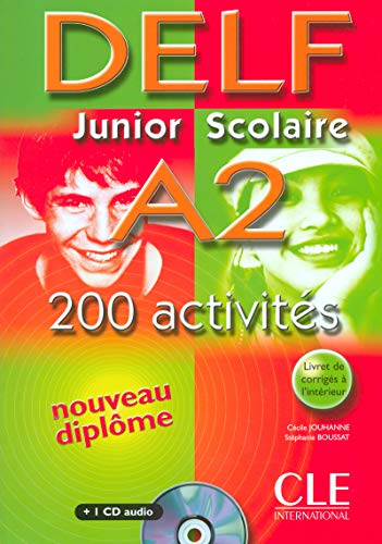 DELF Junior Scolaire A2 200 activits (1CD audio)