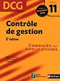 DCG 11 - Contr�le de gestion - Corrig�s des applications - Nathan 2010