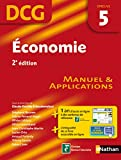 DCG 5 - Economie - Manuel et applications -- 2� �dition - Nathan 2012