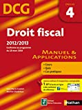 DCG 4 - Droit fiscal - Manuel et applications - Nathan 2012/2013