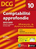 DCG 10 - Comptabilit� approfondie - Manuel et applications - Nathan 2012/2013
