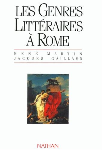 GENRES LITTERAIRES A ROME