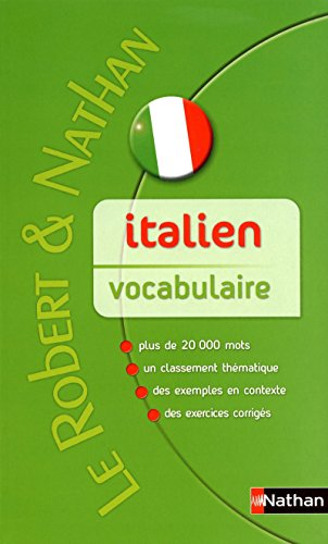 Robert & Nathan Vocabulaire italien contemporain
