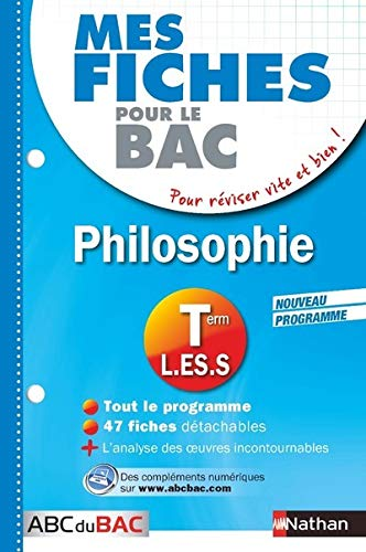 Mes fiches ABC du BAC Philosophie Term L.ES.S