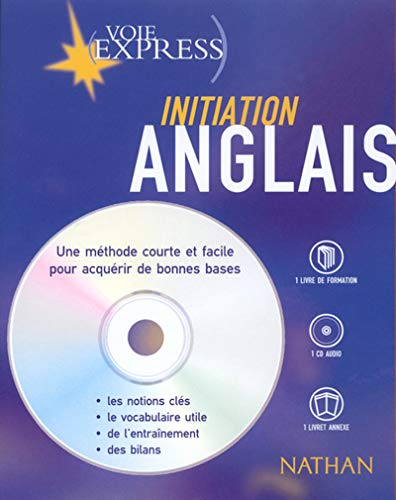 Anglais : Initiation (2 livres + 1 CD audio)