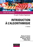 couverture du livre 'Introduction à l'algorithmique'