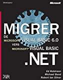 couverture du livre Migrer de visual basic 6.0 vers visual basic.net