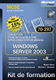 Conception d'une infrastructure Active Directory et réseau Windows Server 2003 : Examen MCSE 70-297
