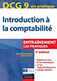 DCG 9 - Introduction � la comptabilit� - 2e �dition - Entra�nement, Cas pratiques