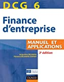DCG 6 - Finance d'entreprise - Manuel et applications - Dunod 2011