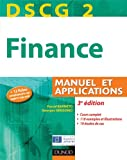 DSCG 2 - Finance - 3e dition - Manuel et applications