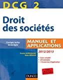 DCG 2 - Droit des soci�t�s - Manuel et applications - Dunod 2012/2013