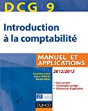 DCG 9 - Introduction � la comptabilit� : Manuel et applications - Dunod 2012/2013