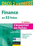 DSCG 2 - Finance en 32 fiches - Dunod 2012