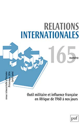 Relations Internationales 2016 N 165