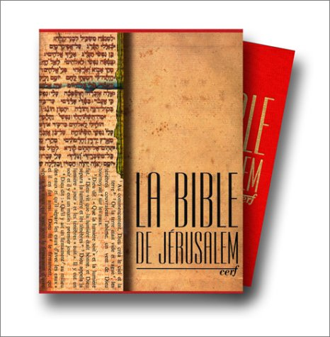 La Bible de Jérusalem, édition Major en toile rouge par Collectif