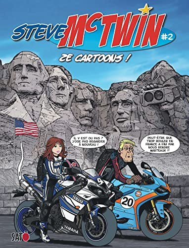 Steve Mc Twin - tome 2 - Ze Cartoons ! par Sato