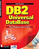 couverture du livre 'DB2 Universal DataBase'