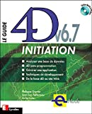 couverture du livre Le Guide 4D v6.7 Initiation