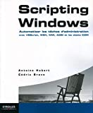 couverture du livre 'Scripting Windows'