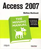 couverture du livre Access 2007 The Missing Manual